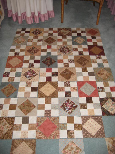 Layer Cake Quilt Missouri Star : Moda cake layer quilt Flickr - Photo Sharing!