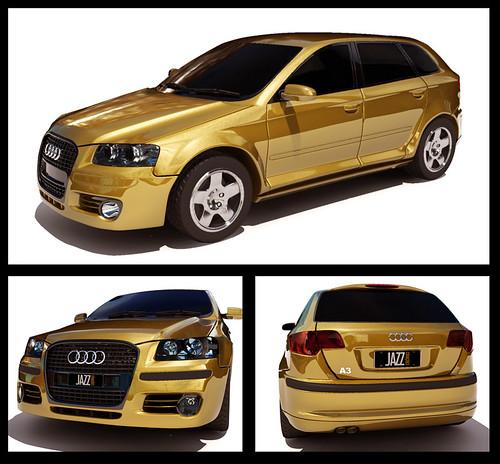 Audi A3 (3d max)