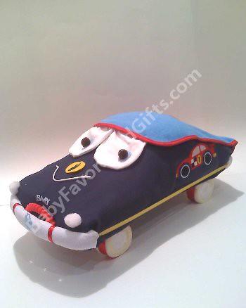 How To Make A Race Car Diaper Cake
