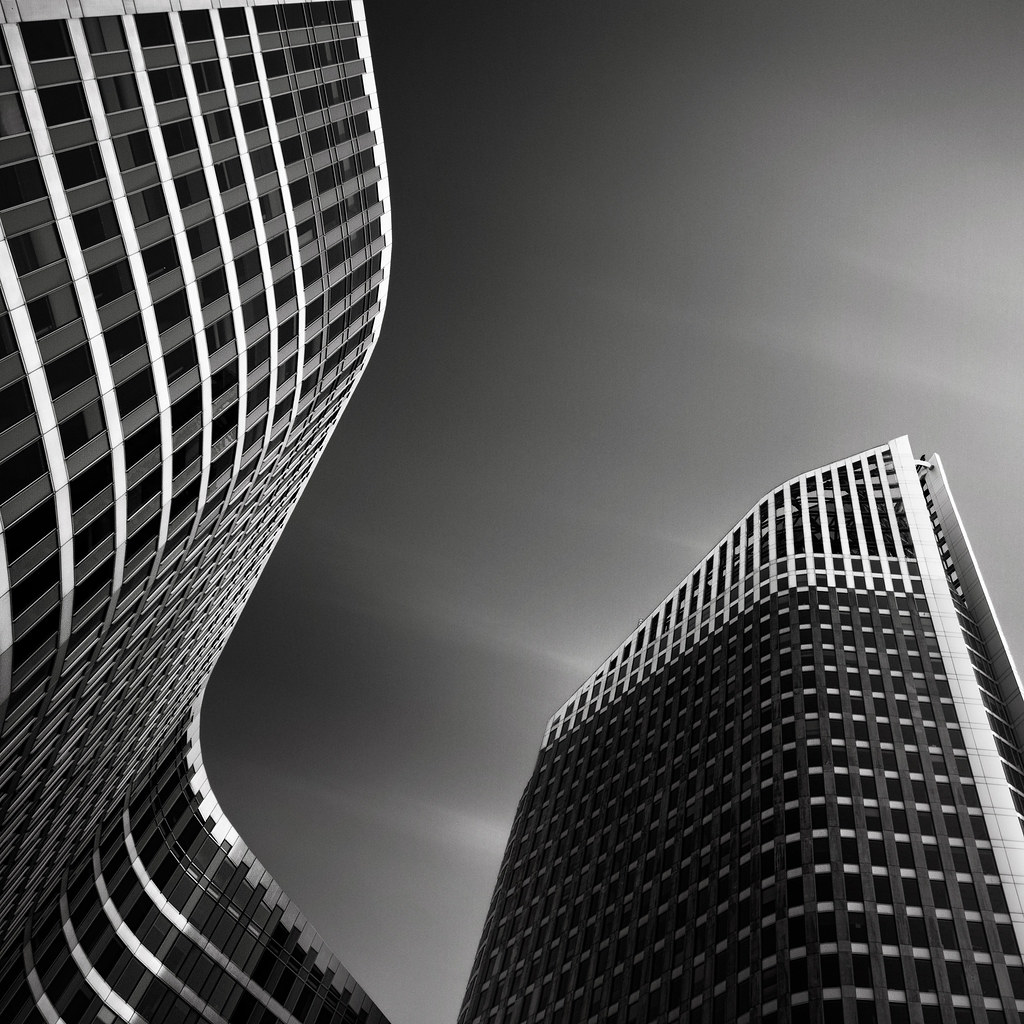 joel tjintjelaar architecture photograph frozen prints architectural modern buildings photographer building structures fine photographs architects modernism iv hoftoren netherlands hague