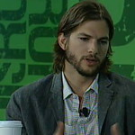 Ashton Kutcher Talks With Charlie Rose At TechCrunch Disrupt