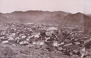 Historische Aufnahme von Virginia City