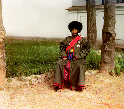 Unknown man (between 1905 and 1915) by Sergey Prokudin-Gorsky