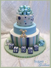 Samantha's Baby Shower Cake