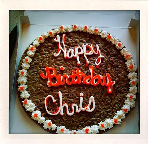 Happy Birthday Chris!