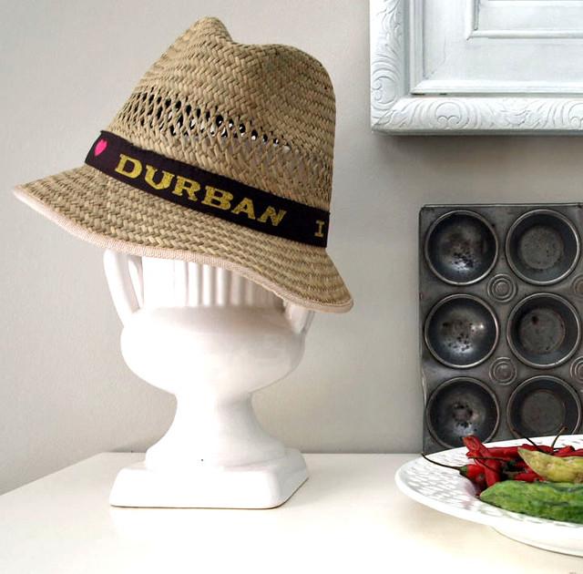 I love Durban Hat  6c643b8c584