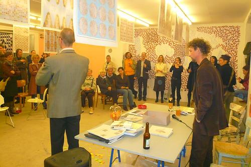Kehraus. Der letzte Abend im Kunstraum Gutleut15. April 2009 --- gutleut15-kehraus-1080506