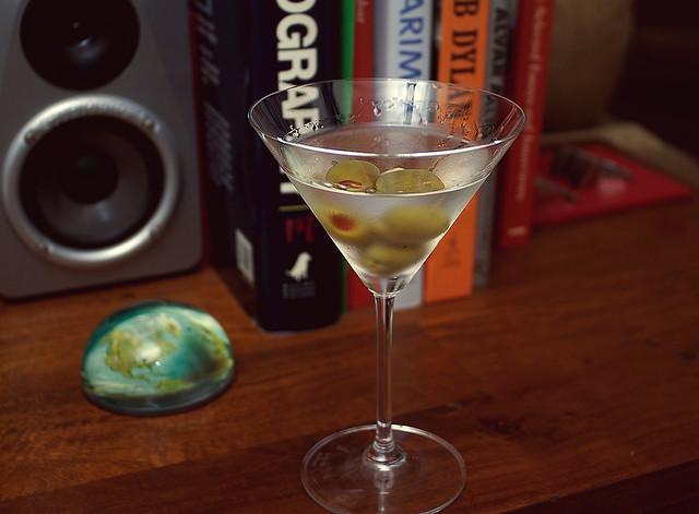 vodka martini straight up three olives flickr photo