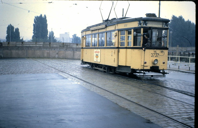 Endstation, Potsdamer Platz, Berlin, 29 August 1962