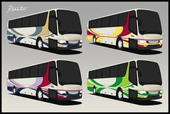 Number 8... Bus Livery Design