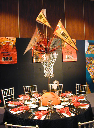 Basketball theme centerpiece flickr photo sharing