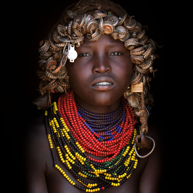 Dassanetch girl - Omo valley Ethiopia