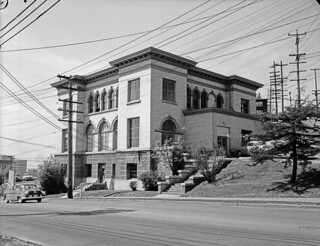 Yesler substation, 1952