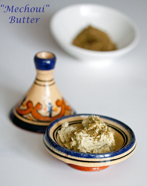 Georgina Ingham | Culinary Travels Photograph - sweet, spicy Mechoui Butter, perfect for use with chicken, lamb or vegetables