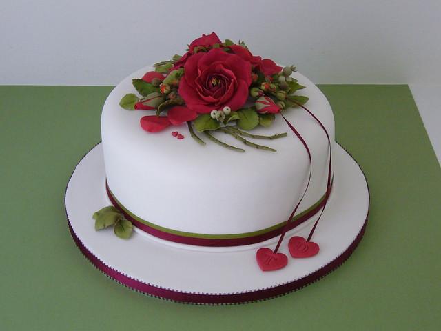 Personalise Wedding Cake Ribbon