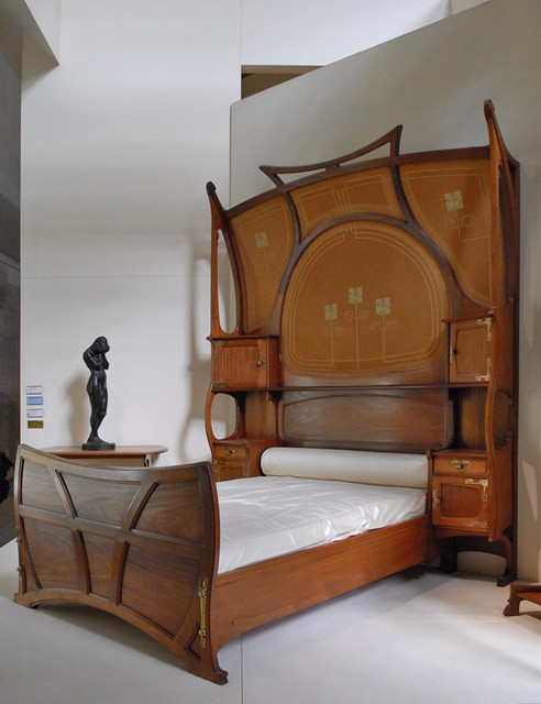 chambre art nouveau mus e d 39 orsay flickr photo sharing. Black Bedroom Furniture Sets. Home Design Ideas