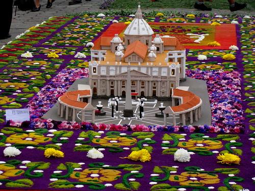 Lisovzmesy Alfombras De Semana Santa En Guatemala