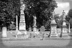 19TH CENTURY MONUMENTS AT ELMWOOD CEMETERY