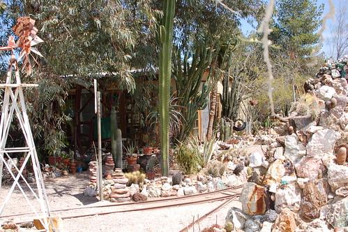"arizona cactus yard botanical rocks crystals tucson minerals goldfield gardens"" ""original harrisonyocum pccwinter2009rockprospectingclass"