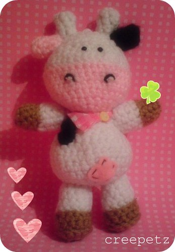 Cabeza Vaca Amigurumi : vaca amigurumi Flickr - Photo Sharing!