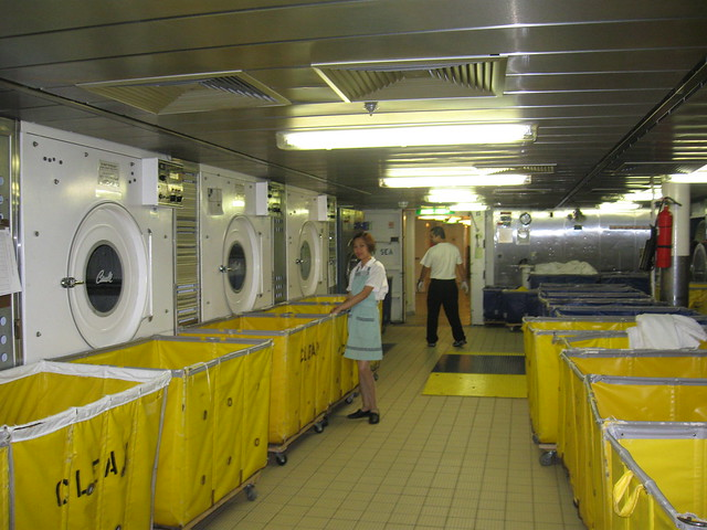 Celebrity solstice cruise ship laundry