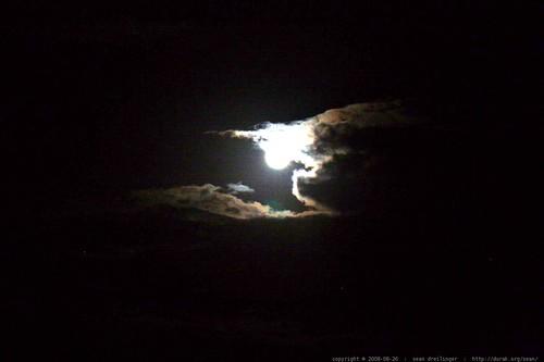 moon over kauai    MG 9550