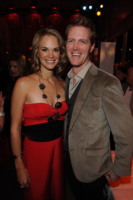 Jennifer Hedger and Sean McCormick