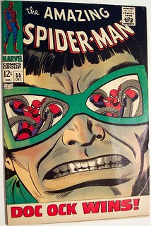 Vintage Comic Book - Amazing Spider-man #55