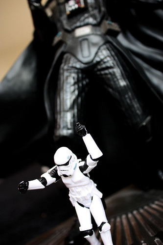 Escaping from Giant Vader
