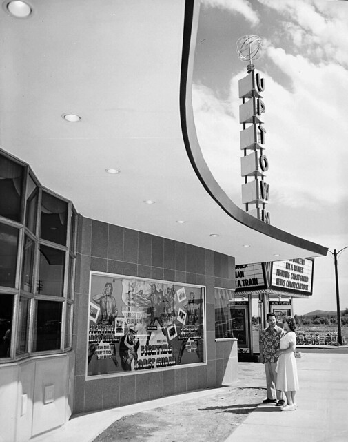 "1951, The ""Fighting Coast Guard"" at the Uptown Cinema"