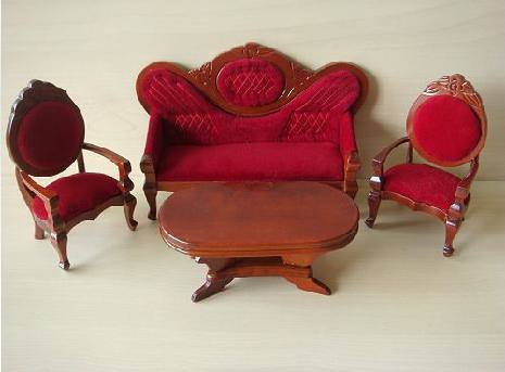 Old Fashioned Sofa Set 1 12 Scale By Blythelover