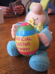 play, food, easter egg, easter, stuffed toy, blue, toy,
