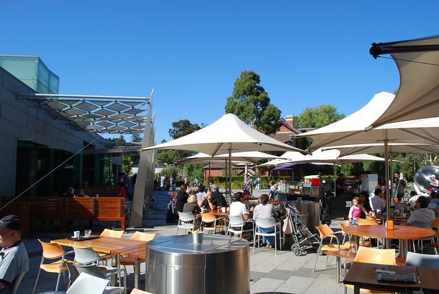 Observatory Cafe Botanical Gardens Melbourne