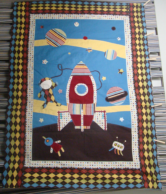 my son's astronaut quilt   Flickr - Photo Sharing!