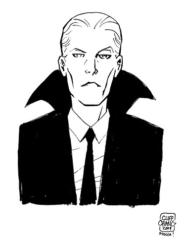 david bowie by cliff chiang