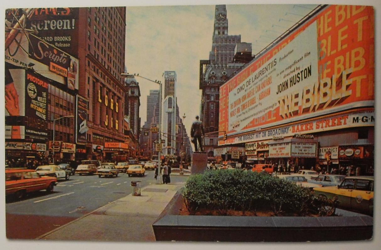 Открытка нью-йорк