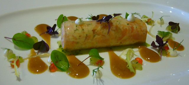 Salmon rillettes - Gidleigh park | Flickr - Photo Sharing!