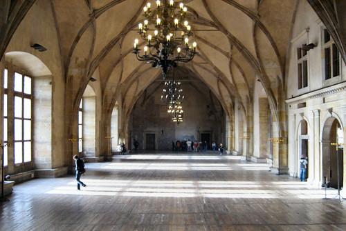 Prague Castle Old Royale Palace Vladislav Hall