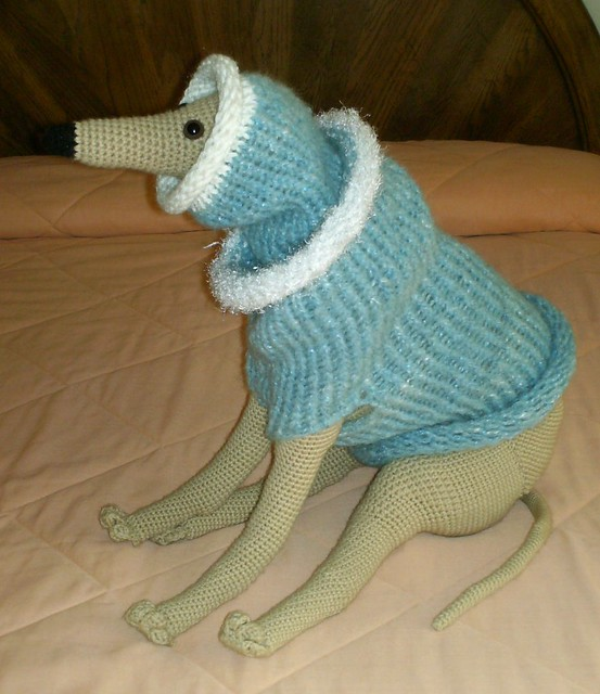 whippet sweater & snood Flickr - Photo Sharing!