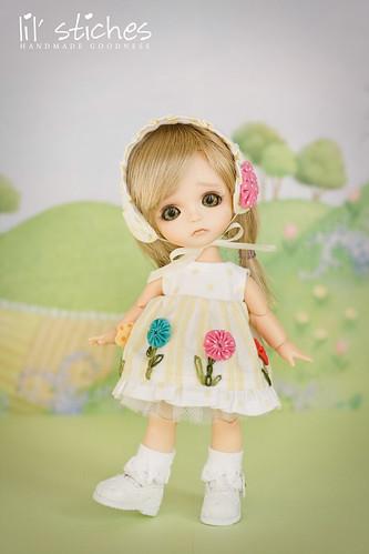 Buttercup YoYo Dress Set