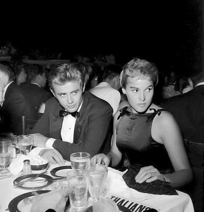 James Dean and Ursula Andress by Vintage-Stars