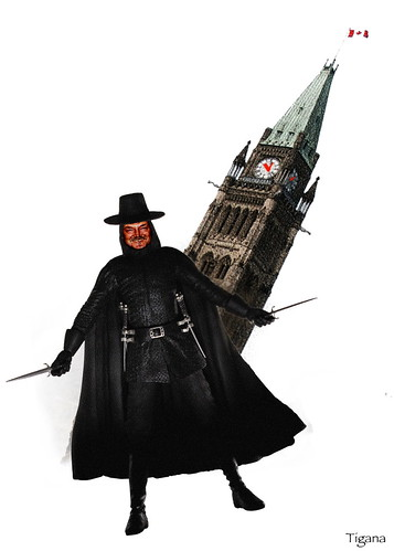 George Galloway as V in Ottawa