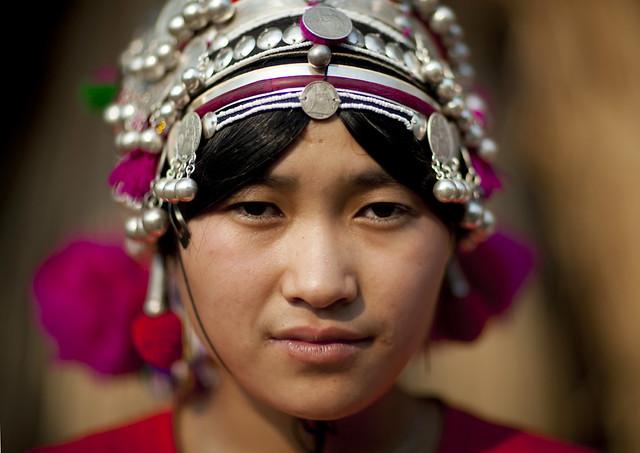 Akha girl Laos