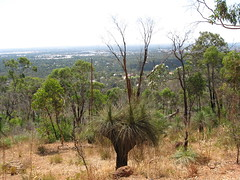 perth w.a. australia. from the hills