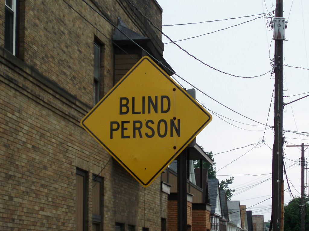 Blind Person