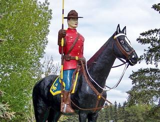 SK09f168 Big Mountie, North Battleford, Saskatchewan 2009