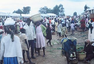 Market Day Western Kenya