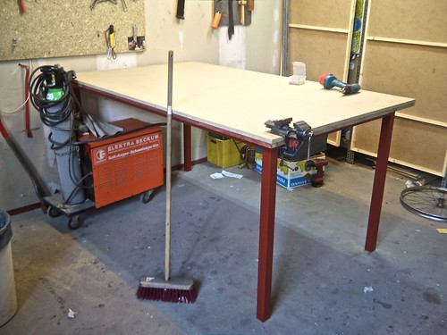 built us a new workbench