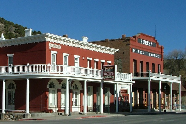 Eureka Nevada Jackson House Hotel http://www.flickr.com/photos/larrymyhre/5809022794/