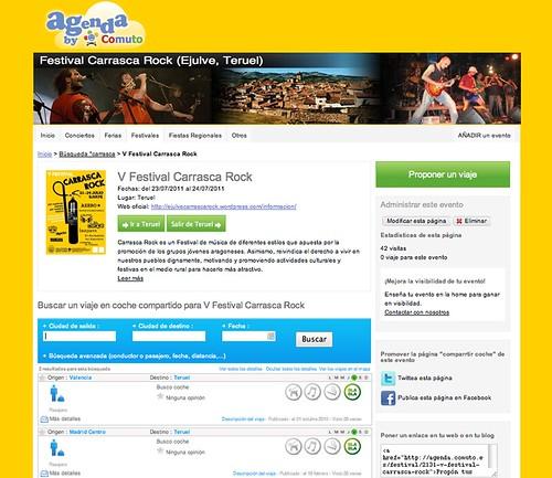 Web-para-compartir-coche-carrasca-rock
